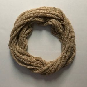 Charming Charlie Tinsel Knit Infinity Scarf